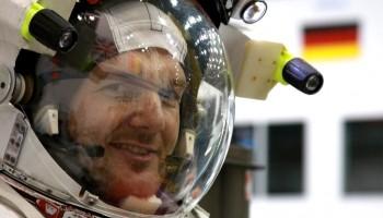 ESA Astronaut Alexander Gerst. Credit: ESA/NASA.