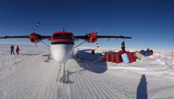 Twin Otter refueling