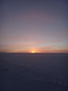 Sunset at Concordia