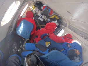 Inside Twin Otter
