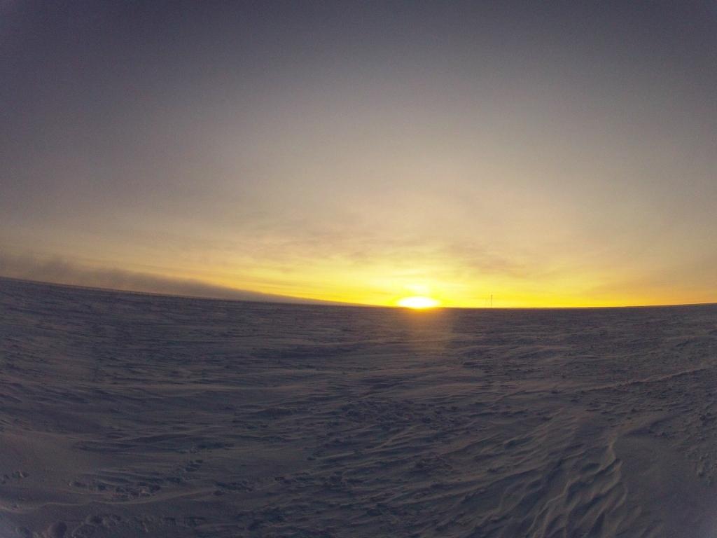 Rising Sun. Credits: ESA/IPEV/PNRA-E. Kaimakamis