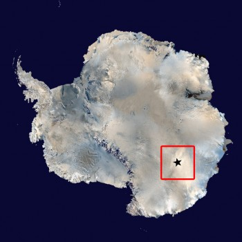 Concordia location. Credits: ESA