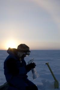 Glaciologist Albane Barbero. Credits: IPEV/PNRA-Christophe