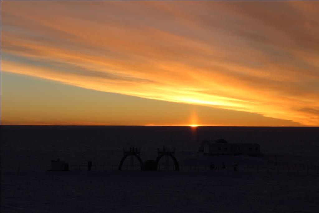 Last Sunset. Credits: IPEV/PNRA-Yann