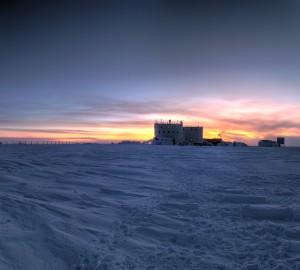 Concordia Sunset. Credits: IPEV/PNRA-A. Litterio