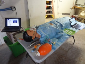 Research dummy. Credits: K. Staats