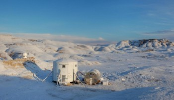 Mars Desert Research Station. Credits: MDRS Crew 62