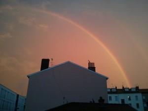 Rainbows at Lyon. Credits: IPEV/PNRA/ESA-A. Golemis