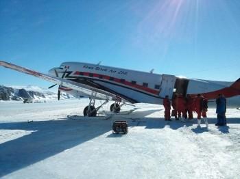 Bassler snowplane. Credits: ESA/IPEV/PNRA-A. Golemis