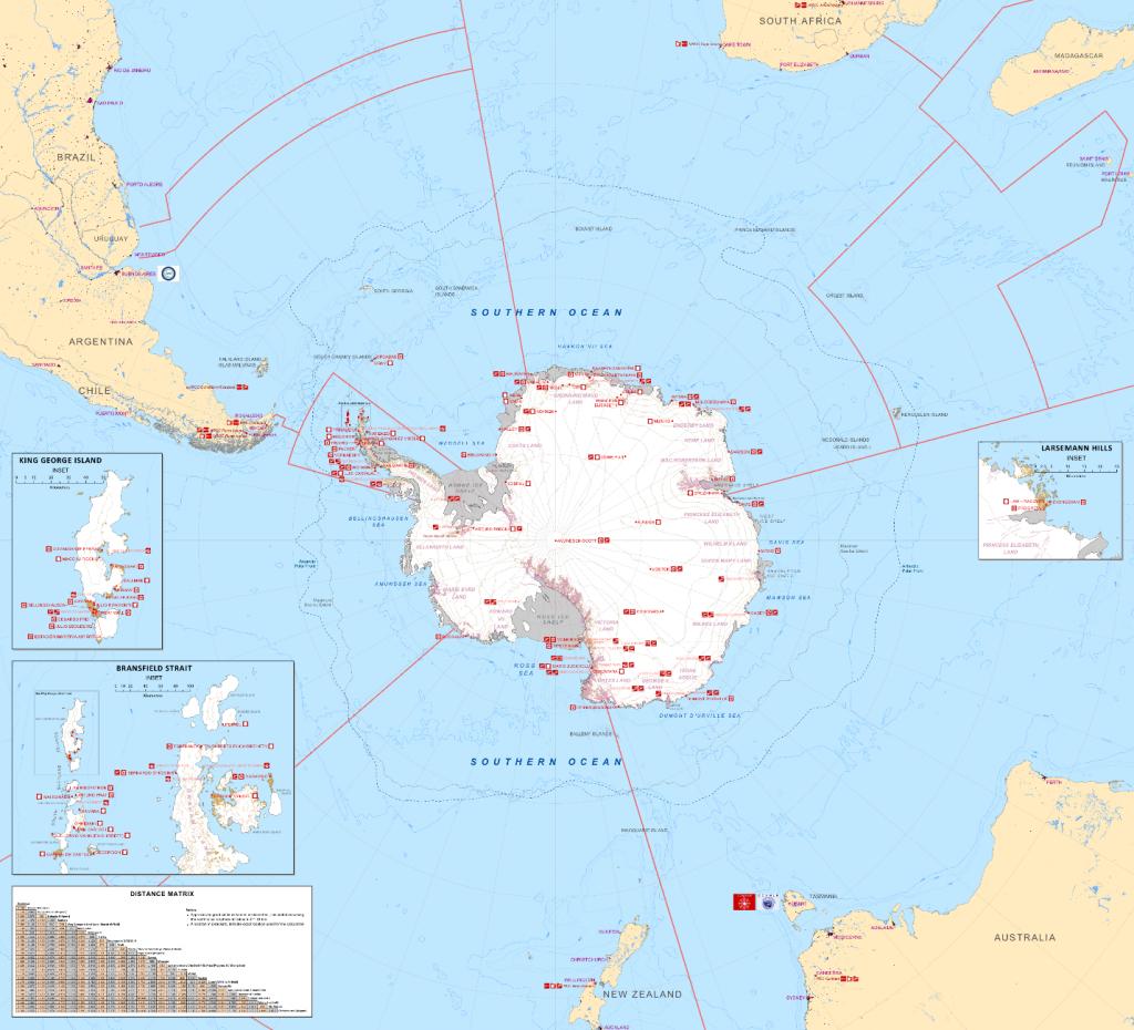 Antarctica. Credit: Wikimedia
