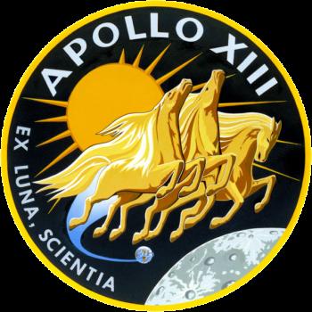 Apollo 13 mission insignia [Credits: Wikipedia]