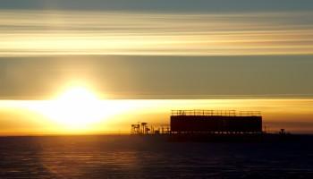 Sunset. Credits: IPEV/ENEA-UTA-A. Literio