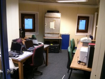 The internet room, a bridge to the world. Credits: ESA/IPEV/ENEA-A. Golemis