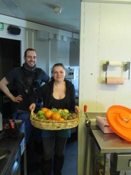 Fresh fruit! ESA/IPEV/ENEA-A. Golemis