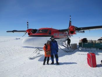 Arrival at Dumont D'Urville base. Credits: ESA/IPEV/PNRA-A. Golemis