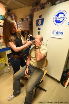 Eye test. Credits: IPEV/PNRA-L. Moggio