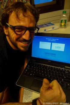 Test complete. Credits: PNRA/IPEV-L Moggio