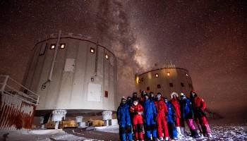 Midwinter crew portrait. Credits: ESA/IPEV/PNRA