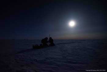 Searching for life by Moonlight. Credits: ESA/IPEV/PNRA/B. Healey