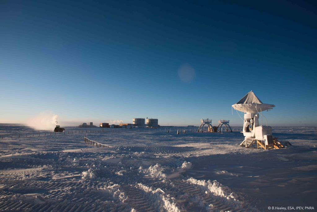 Sunday at Concordia. Credits: ESA/IPEV/PNRA-B. Healey