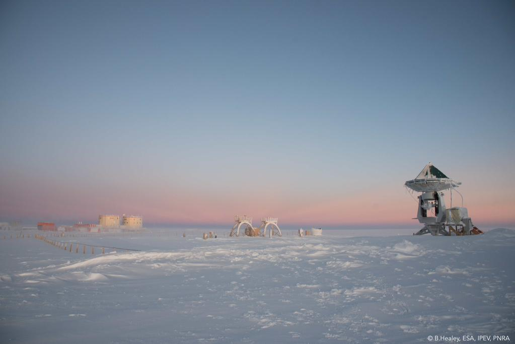 Beautiful morning. Credits: ESA/IPEV/PNRA-B. Healey