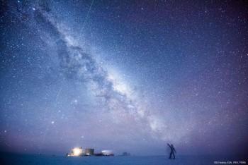 Night fever. Credits: ESA/IPEV/PNRA-B. Healey