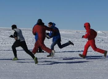 Antarctica Rugby. Credits: IPEV/PNRA L. Moggio