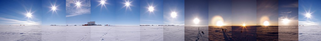 Bouncing Sun 24-hour panoramic. ESA/IPEV/PNRA-E. Macdonald-Nethercott
