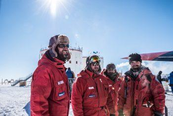 Concordia crew members. Credits: ESA/IPEV/PNRA