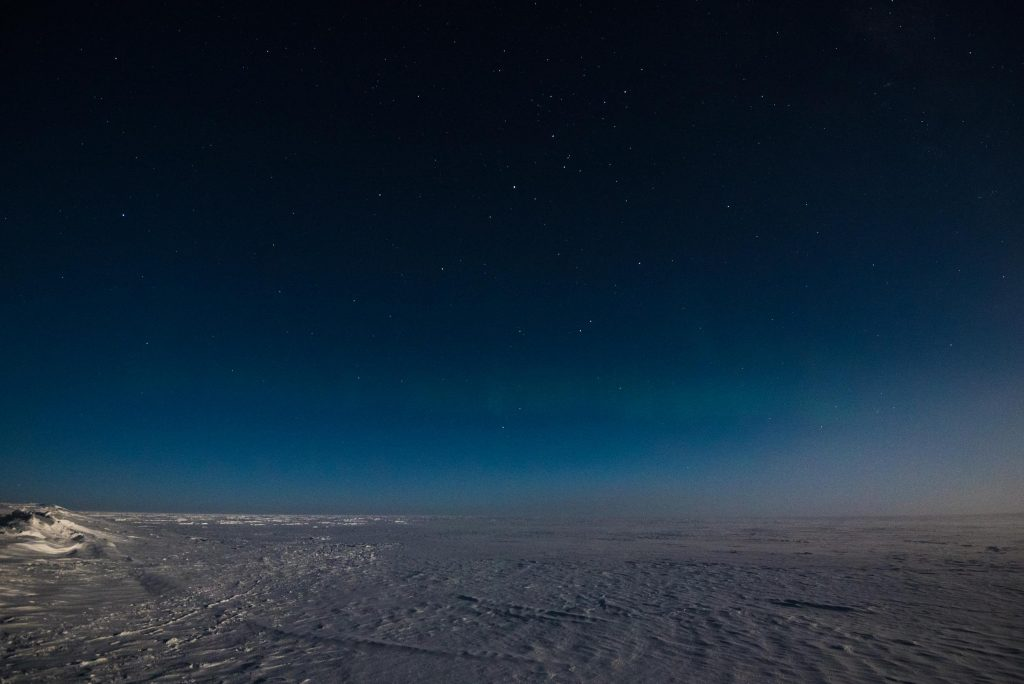 """On the plateau """" Dome C"""", in height comparable to many mountains of Earth. Credits: ESA/IPEV/PNRA"""