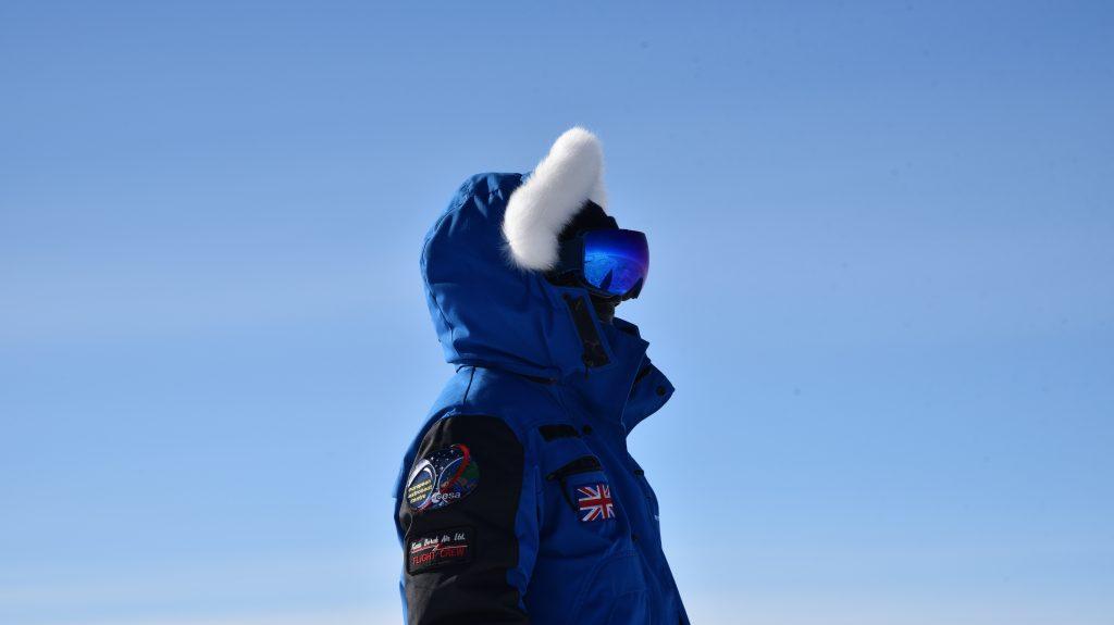 Beth Healey in polar garb. Credits: ESA/IPEV/PNRA