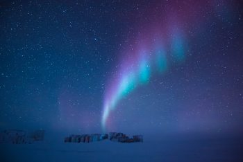 Auroras occur frequently over both the North and South polar regions. Credits: ESA/IPEV/PNRA–B. Healey
