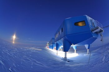 The Halley VI station of the British Antarctic Survey. Credits: BAS