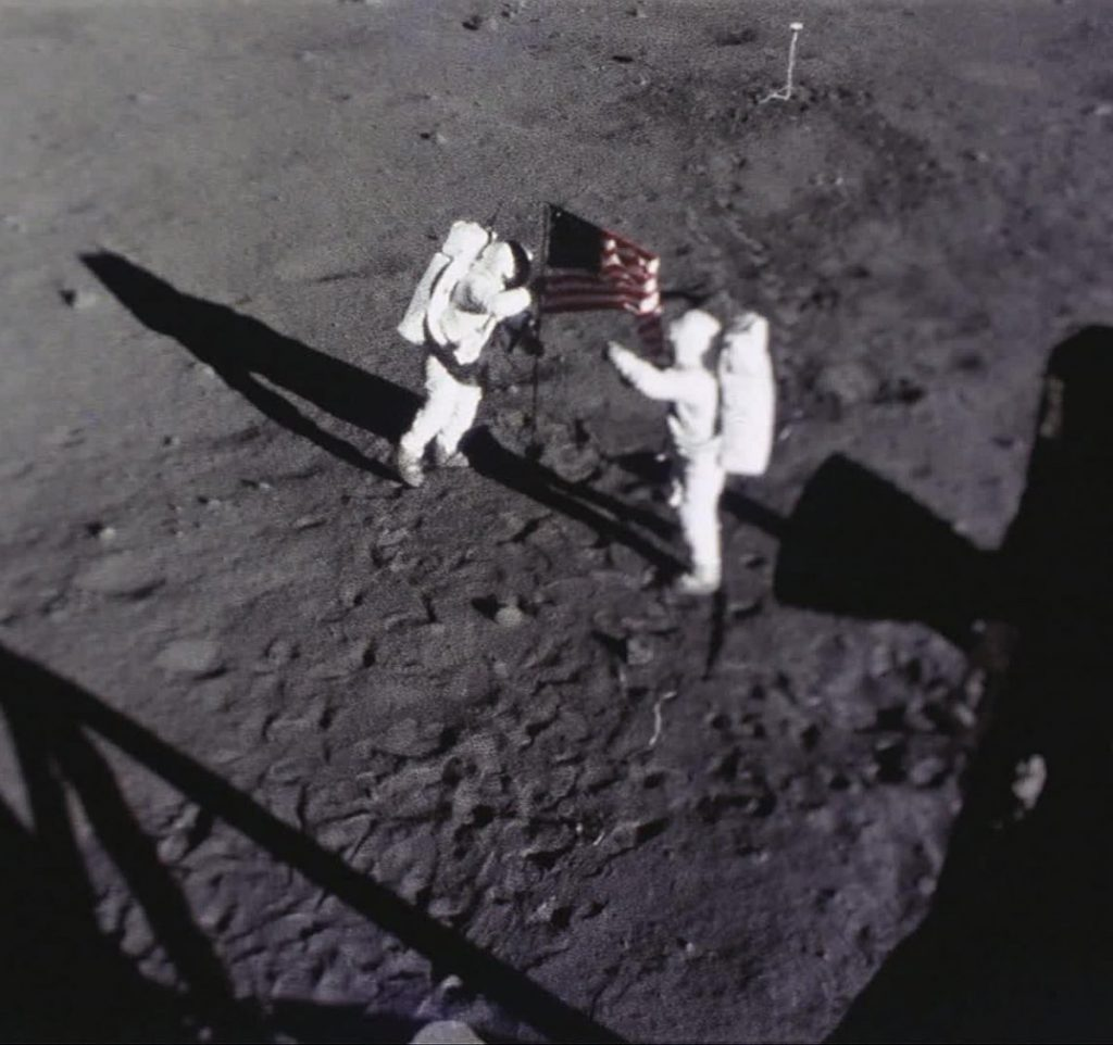 the first landing on the moon essay Vice president lyndon johnson was the chief supporter of the moon landing attempts during the time period, and later was followed by his presidential counterpart, john f kennedy by 1965, the united states was far ahead of the ussr in space technology and accomplishment.