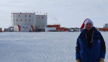 Didier at Concordia station. Credits: IPEV/PNRA/ESA–D. Schmitt