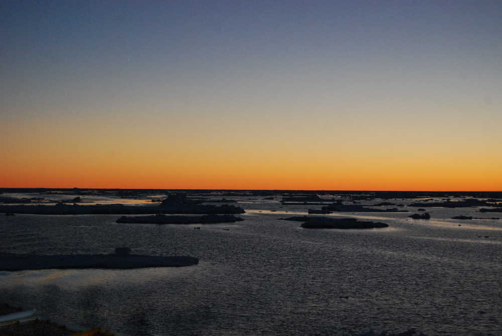 Sunset. Credits: ESA/IPEV/PNRA–D. Schmitt