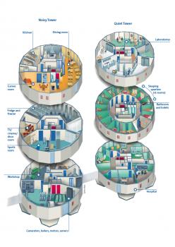 Concordia's floor plan