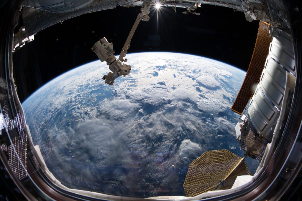 View from space. Credits: ESA/NASA