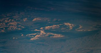 Antarctica seen by ESA astronaut Alexander Gerst from Space Station. Credits: ESA/NASA