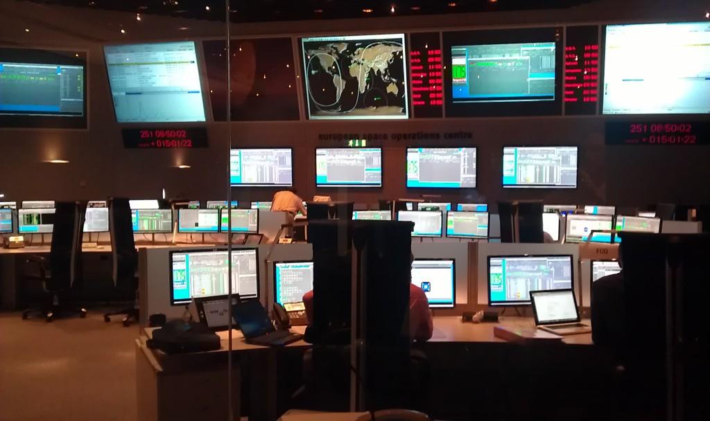 MetOp-B Simulation training at ESOC 7 Sep 2012 Credit: ESA