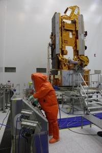 Fuelling MetOp-B Credit: ESA