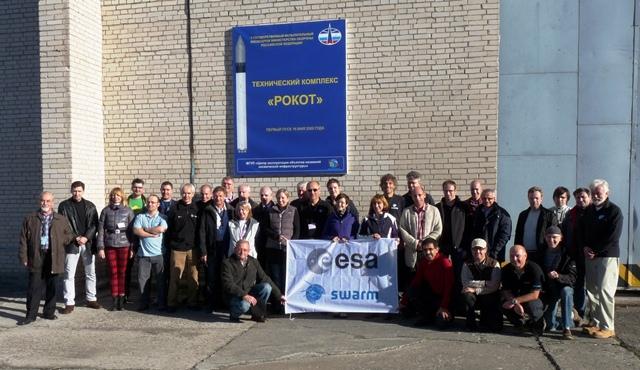 Launch campaign team (Eurockot)