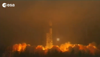 Swarm launch (ESA)