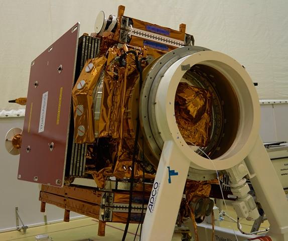 Sentinel-1. (ESA–B. v/d Elst)