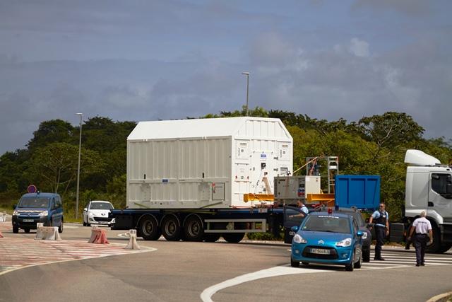 Transport to fuelling facilities. (ESA –B. v/d Elst)