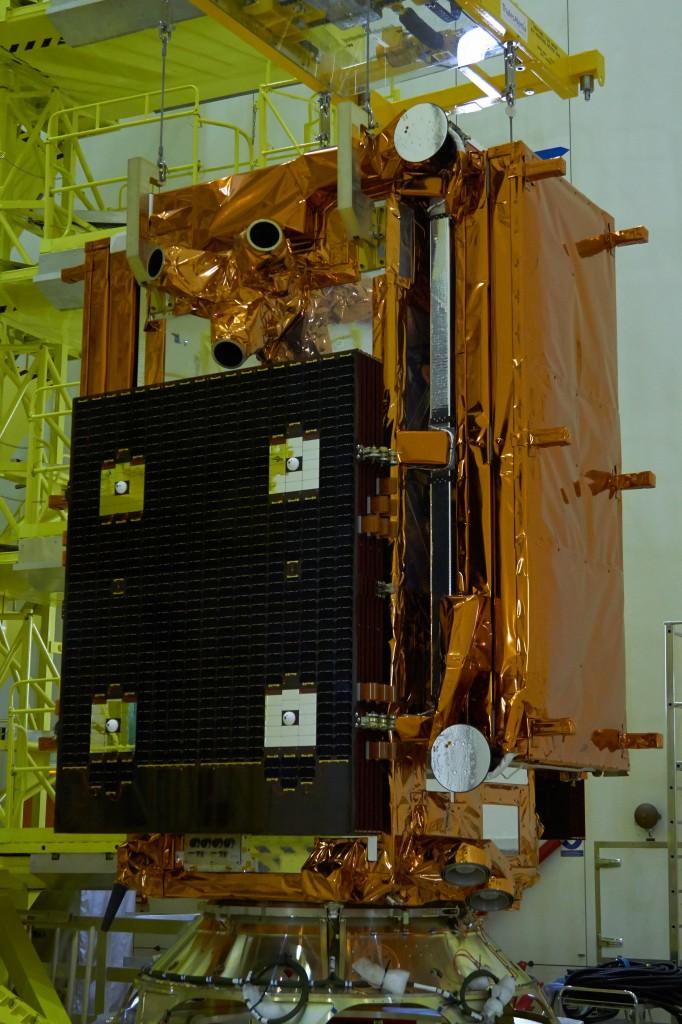 Sentinel-1A on KMTO. (ESA –B. v/d Elst)