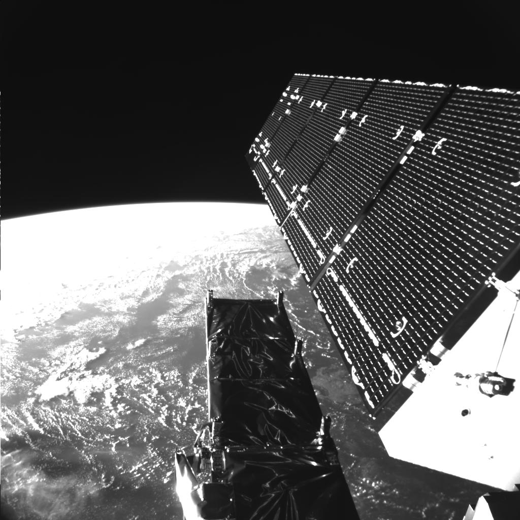 Sentinel-1's selfie from space. (ESA)