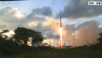Sentinel-1 liftoff!