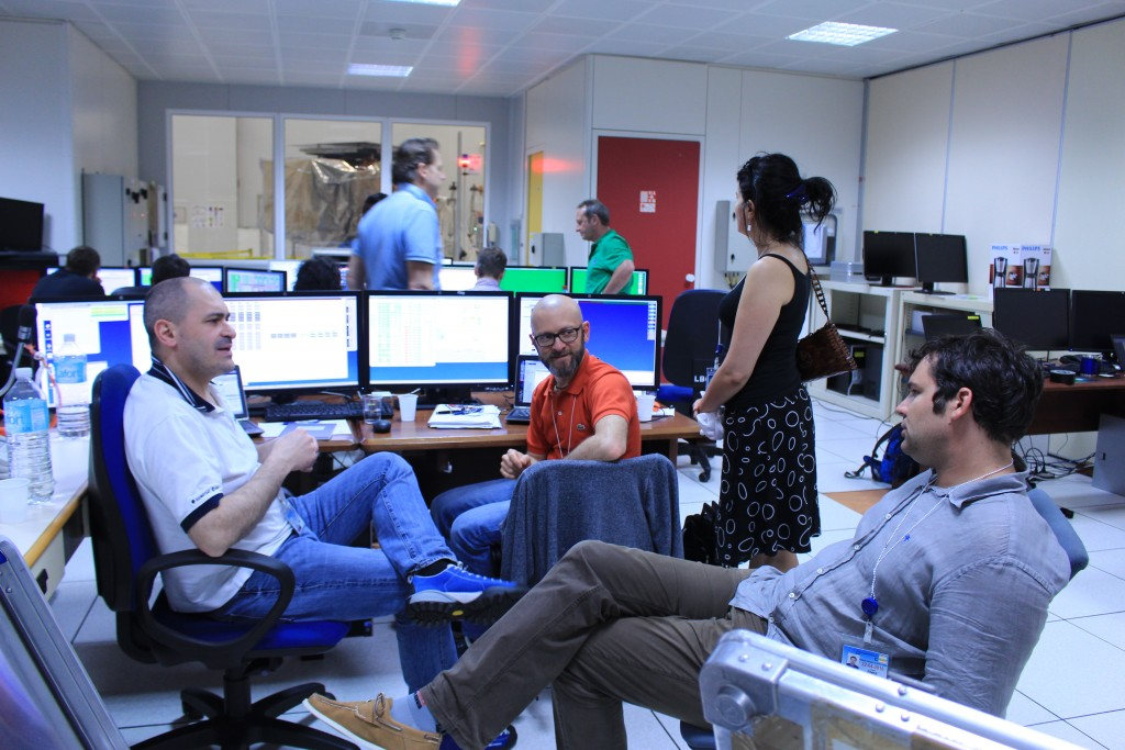 Relaxing after the 10-hour switch on (ESA/C. Wildner)