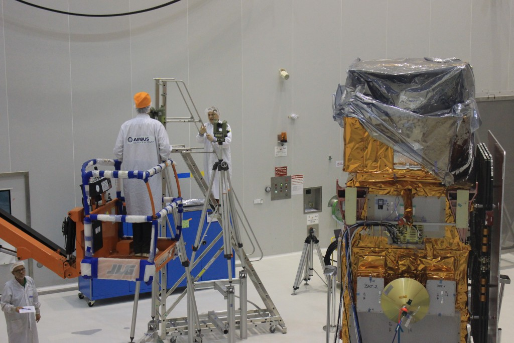 Testing alignment (ESA/C. Wildner)